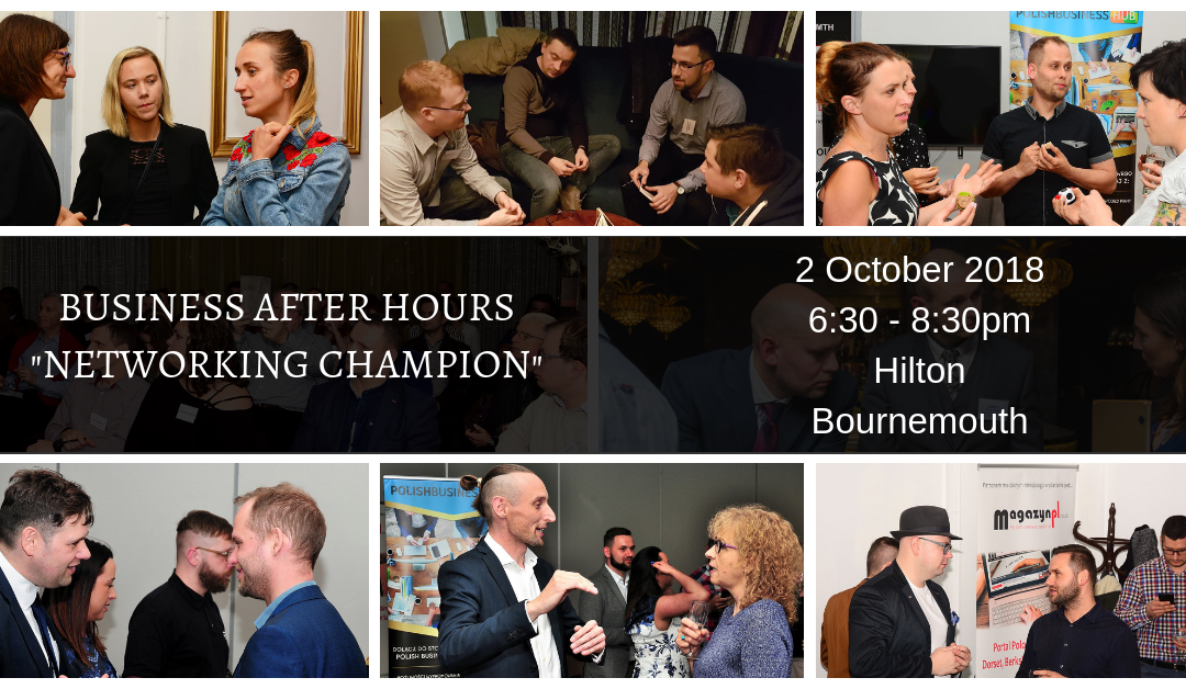 Business after Hours – NETWORKING CHAMPION
