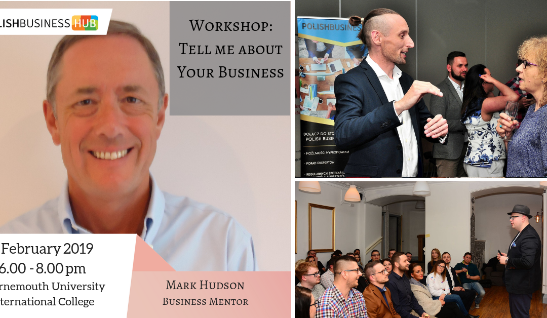 Workshop: Tell me about your Business