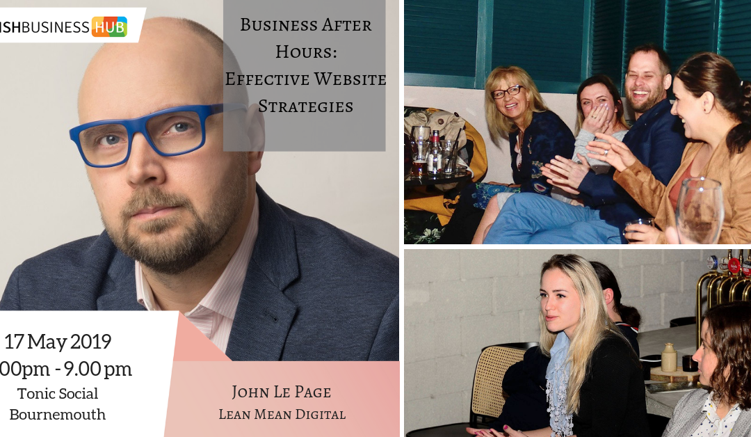 Business after Hours: Effective Website Strategies